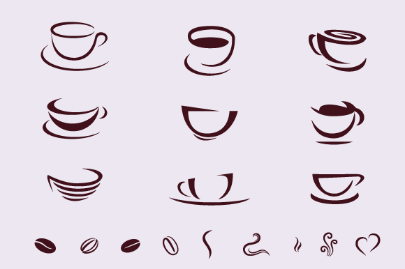 Coffee Cups For Logos