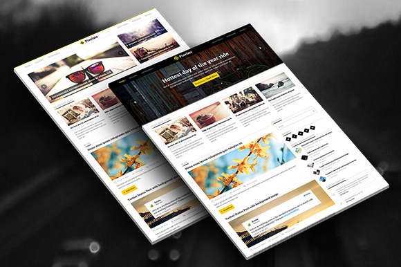 Pixelate Responsive WordPress Blog