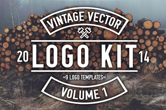 Vintage Vector Logo Kit