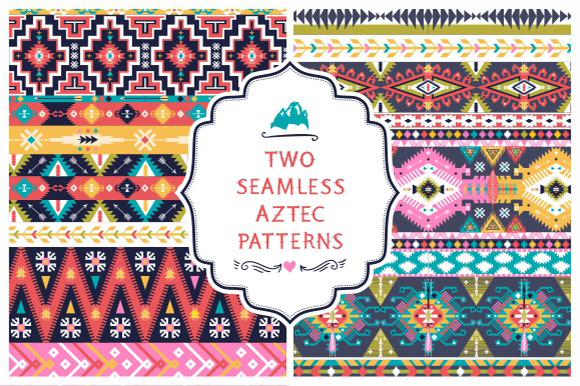 Seamless Pattern In Native American