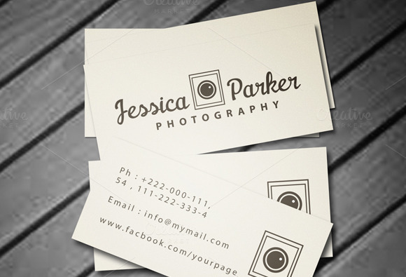 Mini Photography Business Card