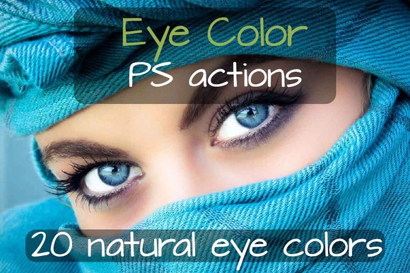 Eye Colors Photoshop Actions
