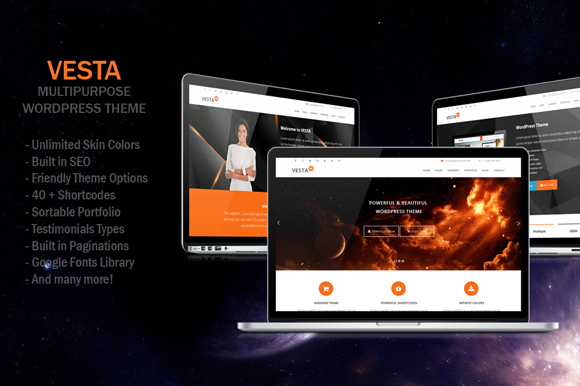 Vesta MultiPurpose WP Theme