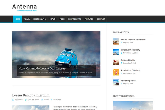 Antenna Magazine Theme