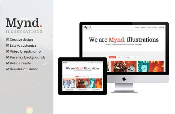 Mynd Creative Portfolio Theme