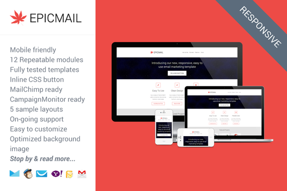 Epicmail Responsive Email Template