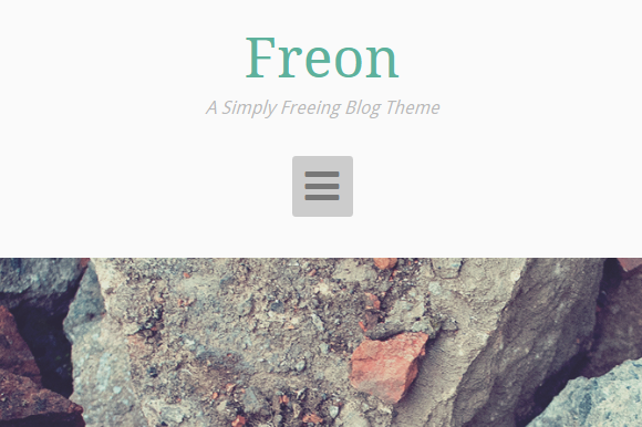 Freon A Simple Blogging Theme