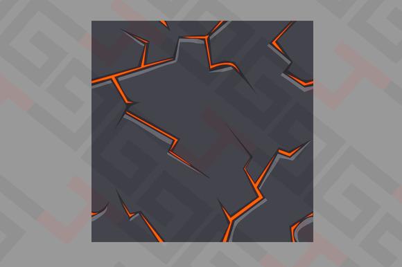 Magma Tile Texture