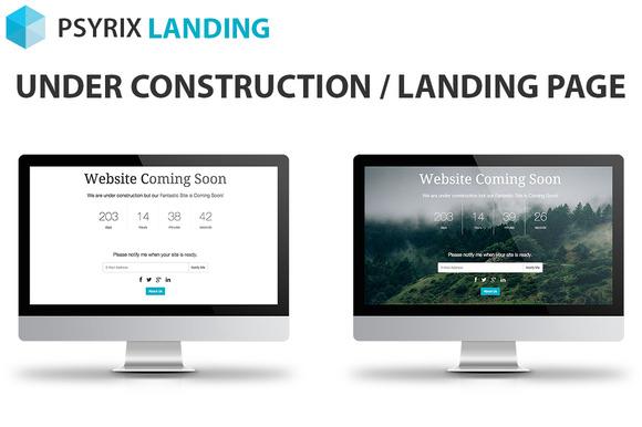 Psyrix Landing Page