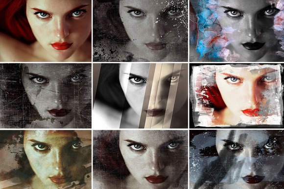 8 Distressed Image Treatments