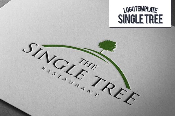 Single Tree Logo