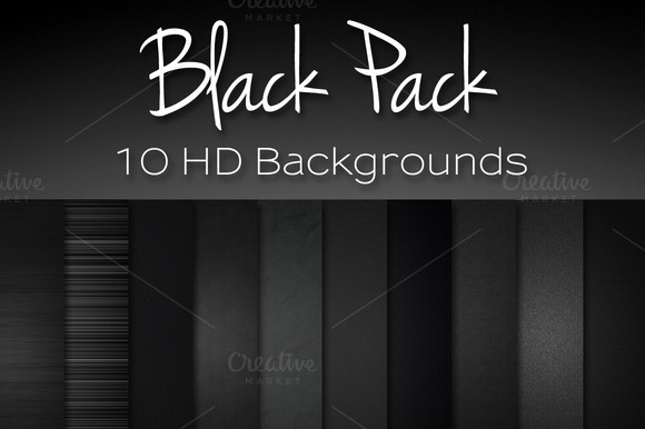 Black Pack Textures