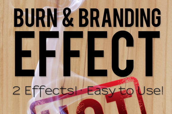 Burn Branding Effects
