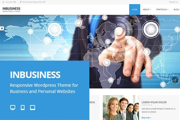InBusiness Responsive WP Theme