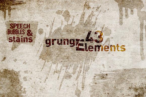 43 Grunge Elements Vol2