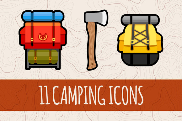 Camping Graphics Icons