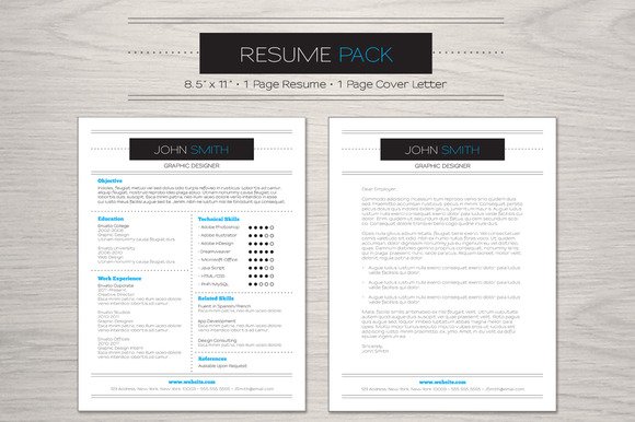 Elegant Resume Pack