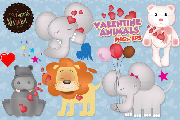 Valentine Animals