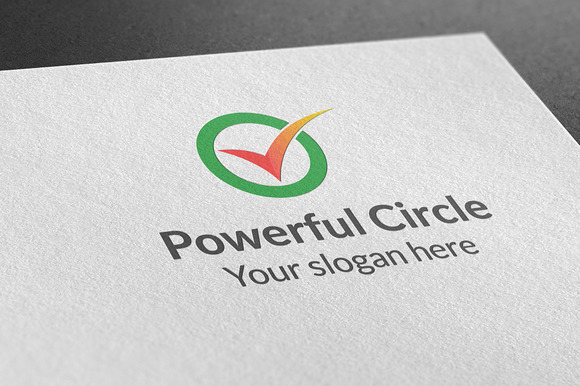 Powerful Circle Logo