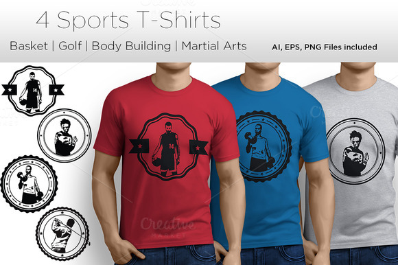 4 Sports T-Shirt