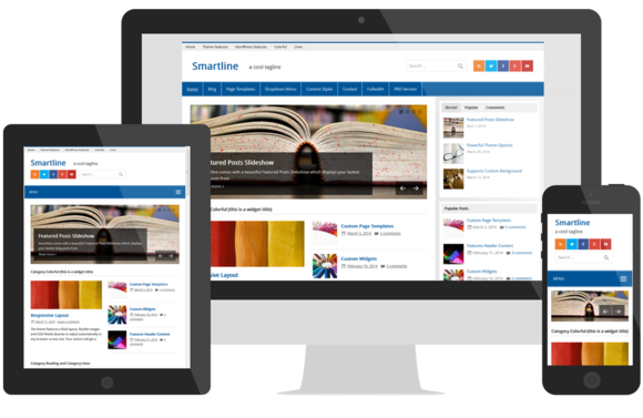 Smartline Magazine WordPress Theme