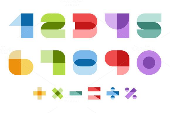 Colorful Font