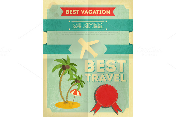 Summer Travel Poster Design
