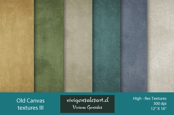 Old Canvas Textures III