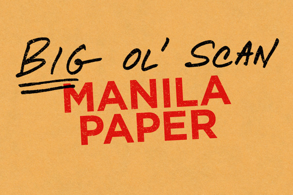 Manila Paper Big Ol Scan