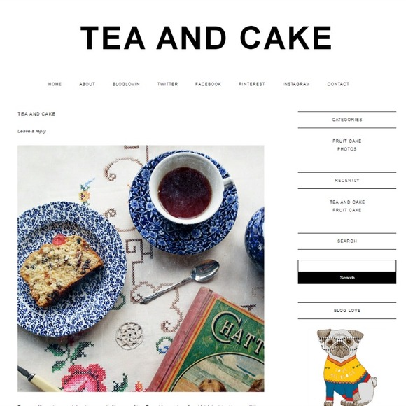 Tea Cake Child Theme