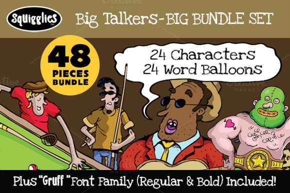 Big Talkers BIG Bundle Set