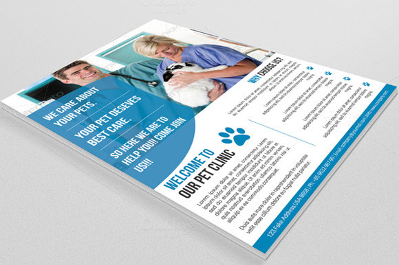 Pet Clinic Flyer-V12