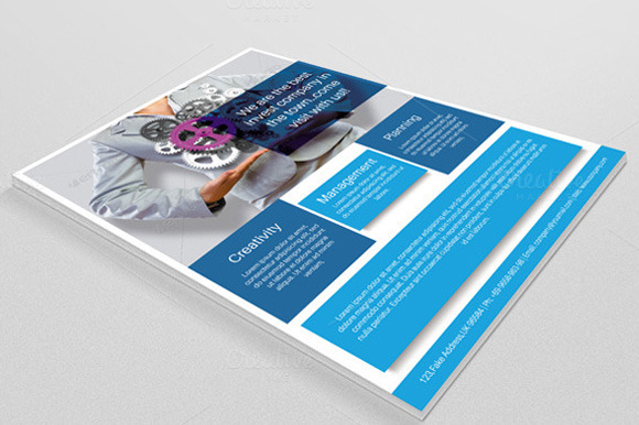 Corporate Flyer Template-V14
