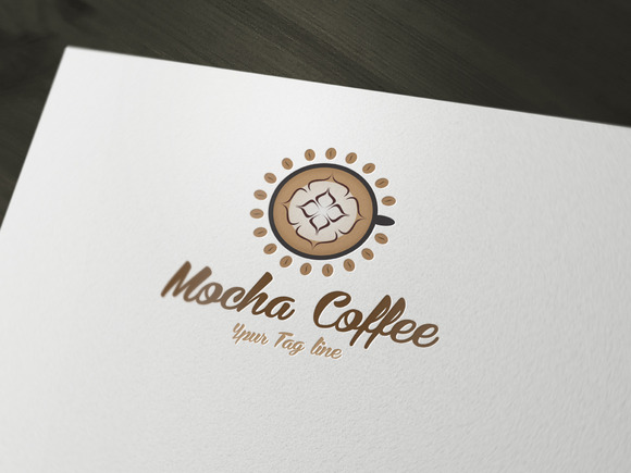 Mocha Coffee Logo