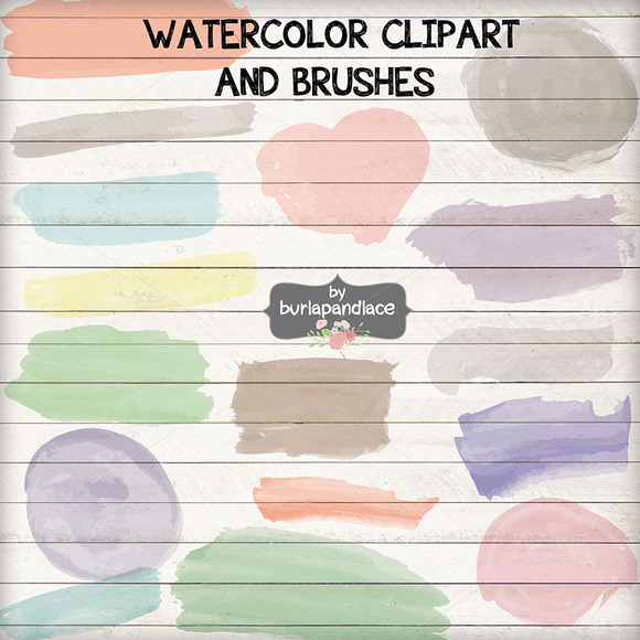 Vector Watercolor Clipart