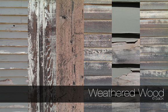 Weathered Wood 6 Pack
