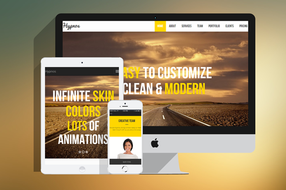 Hypnos MultiPurpose HTML Template