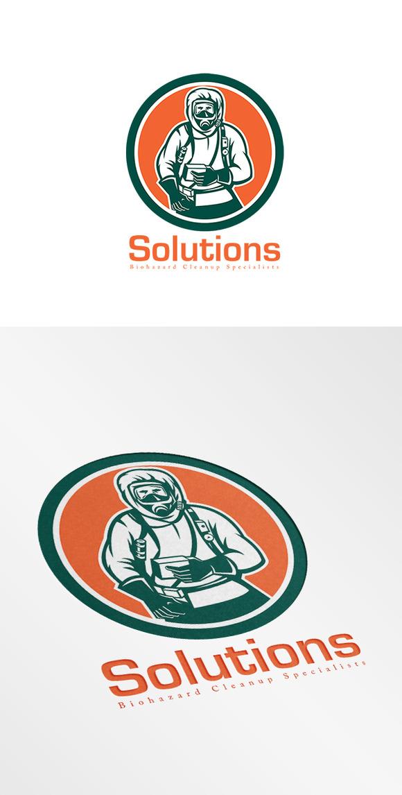 Biohazard Cleanup Services Logo