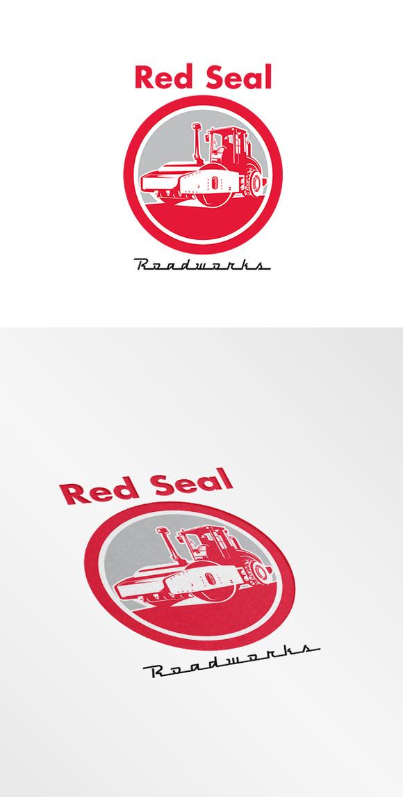 Red Seal Roadworks Logo