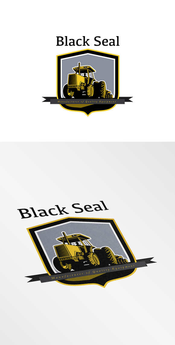 Black Seal Farming Equipments Logo