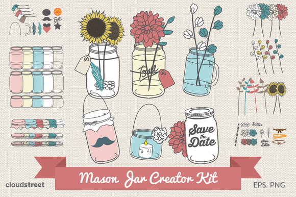 Mason Jar Creator Kit