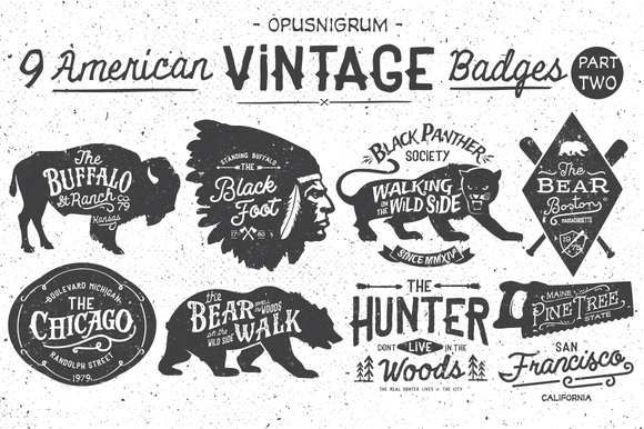 American Vintage Badges Part.2