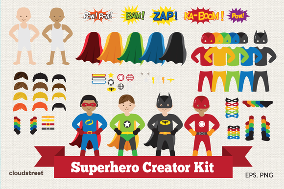 Superhero Creator Kit