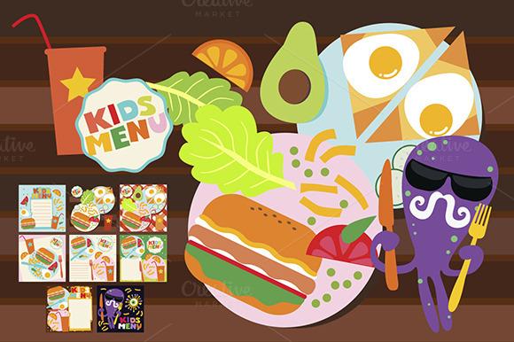Kids Menu Designs