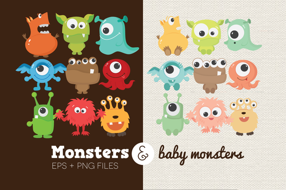 Monsters Baby Monsters