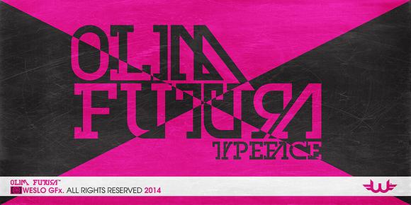 Olim Futura Typeface