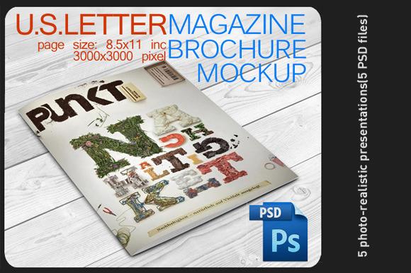 Brochure Magazine Mock Up