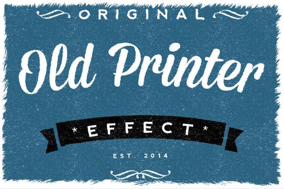 Old Printer