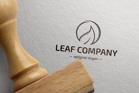 Leaf Company Logo Template