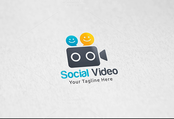 Social Video Logo Template